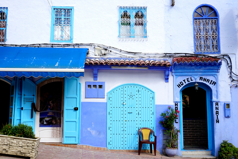 Relacja z African Road Trip / Chefchaouen