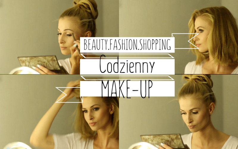 YouTube: CODZIENNY MAKE-UP